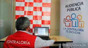 Ciudadanos de Ferreñafe podrán alertar mal uso de los recursos públicos - LaRepública.pe