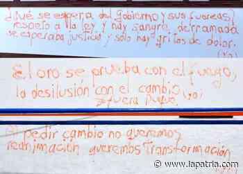 Rechazan grafitis en casas patrimoniales de Salamina - La Patria.com