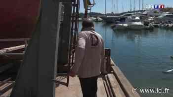 Visite de l'exceptionnel chantier naval de Villefranche-sur-Mer dans les Alpes-Maritimes - LCI