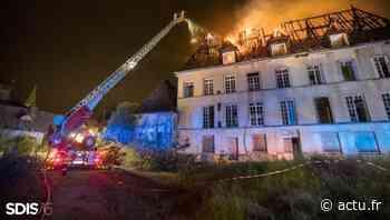 Incendie dans un manoir à Oissel : une enquête de police ouverte - actu.fr