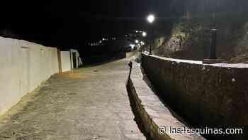 Nueva iluminación de la calle Río del Rosal en el barrio de San Juan en Antequera - Las 4 Esquinas