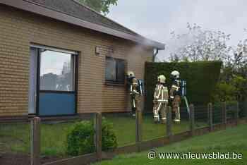 Keuken uitgebrand