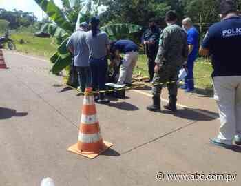 Ultiman a balazos a un agricultor en Yhú - Nacionales - abc.com.py