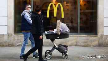 Mitarbeiter infiziert: McDonald's schließt Filiale in Hallstadt - BR24