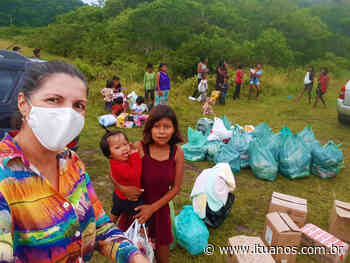 Empresária de Itu ajuda indigenas do litoral de São Paulo - Regina Lonardi - Jornalista, Editora e proprietária do domínio
