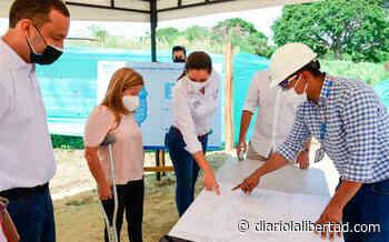 Gobernadora supervisa construcción del sistema de alcantarillado en Pueblito Nuevo, Galapa. - Diario La Libertad