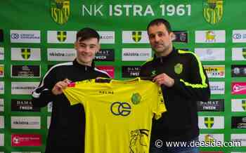 Former Connah's Quay Tiger, Dylan Levitt joins Croatian side NK Istra on loan from Man United - Deeside.com