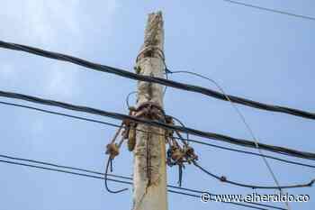 En Salgar advierten sobre riesgos por postes deteriorados - El Heraldo (Colombia)