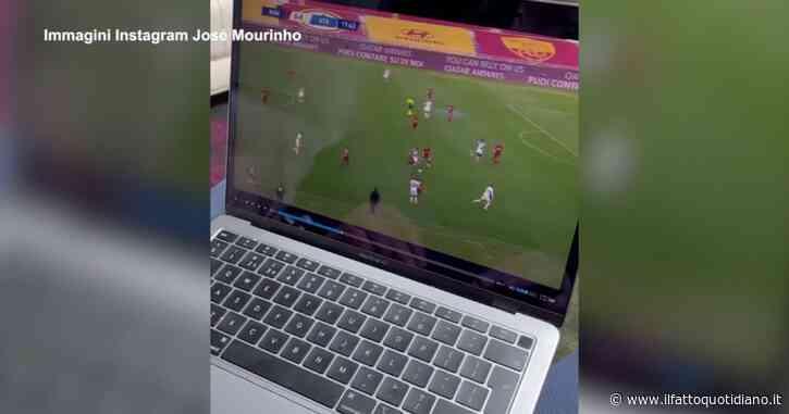 José Mourinho già al lavoro: così il tecnico portoghese studia la rosa della Roma. Il video su Instagram