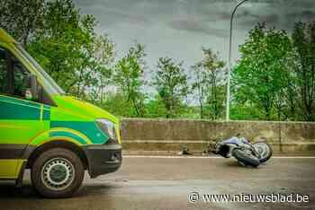Motorrijder in levensgevaar na ongeval op E313