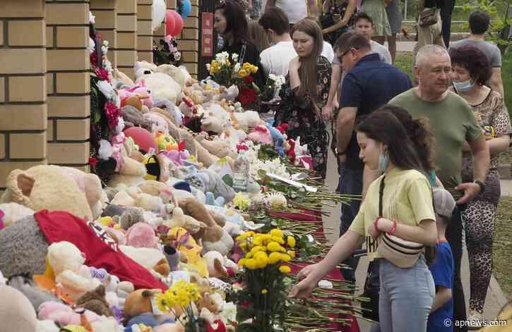Putin says school shooting in Kazan 'has shaken all of us' - The Associated Press