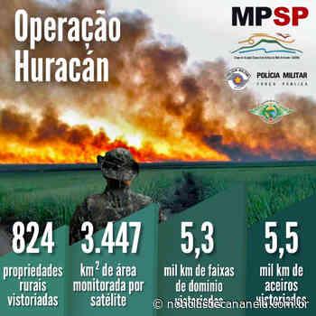 Polícia Militar Ambiental e Ministério Público de Sao Paulo divulgam resultados da Operação Huracán - Noticia de Cananéia