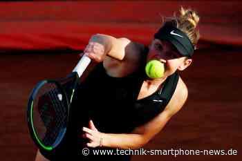 Andere Sportarten: Tennis Halep aus den Italian Open nach einer Wadenverletzung -  Technik Smartphone News