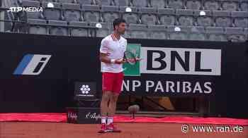 """Wie lange noch?"" Djokovic brüllt Schiri an - RAN"