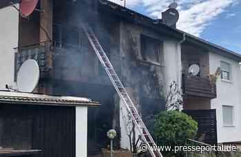 POL-PDLD: Zeiskam - Brand eines Mehrfamilienhauses