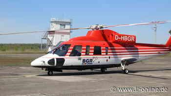 Lausitzer Seenland: Warum ein Hubschrauber tagelang zwischen Lauchhammer und Finsterwalde kreiste - Lausitzer Rundschau