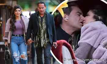 RHONJ's Teresa Giudice kisses boyfriend Luis Ruelas on New York City carriage ride