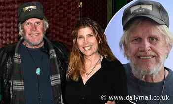Gary Busey, 76, makes rare sighting in Hollywood with his hypnotist wife Steffanie, 46