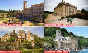 Castles, palaces and stately homes are among dozens of English Heritage sites opening on Monday