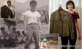 Collector who bought WWII Army jacket sends it to daughter of war hero owner after 20 year search