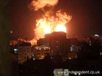 Israel news – live: Rockets fired from Lebanon as military set to approve Gaza ground invasion