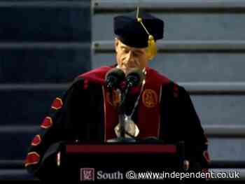University of South Carolina president steps down after plagiarising commencement speech
