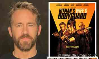 Ryan Reynolds hilariously blasts the Hitman's Wife's Bodyguard poster for removing his right arm