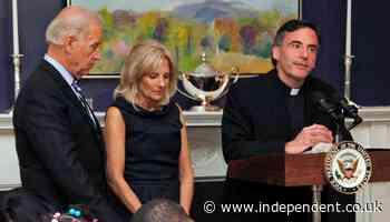 Biden inauguration priest resigns California university post