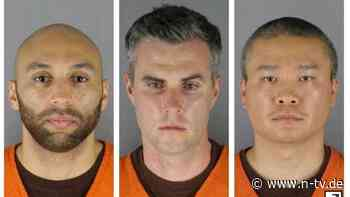 Beihilfe zum Mord an Floyd: Prozess gegen Ex-Polizisten verschoben