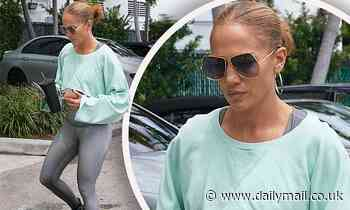 Jennifer Lopez goes to gym in Miami after Montana trip with 'rekindled' flame Ben Affleck