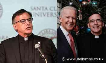 Biden's inauguration priest resigns as Santa Clara University president over misconduct allegations