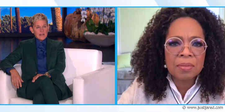 Ellen DeGeneres Tells Oprah Winfrey How She's 'Really Feeling' About Ending Her Show
