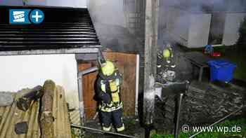 Brand in Wilnsdorf: Anwohner wollen Feuer selbst löschen - Westfalenpost