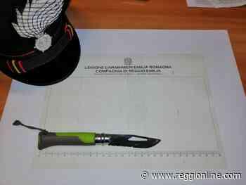 Reggio Emilia: a spasso con un coltello in tasca, denunciato - Reggionline