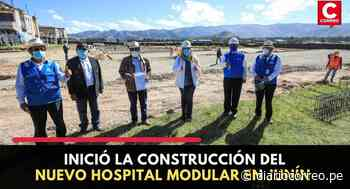 Inició la construcción del nuevo Hospital Modular en Junín - Diario Correo