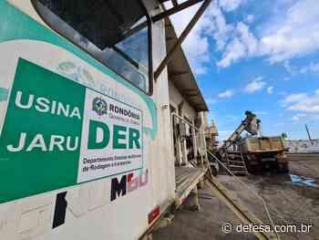 Usina de Asfalto do DER em Jaru já atendeu mais de 200 quilômetros de rodovias em 2021 - Defesa - Agência de Notícias