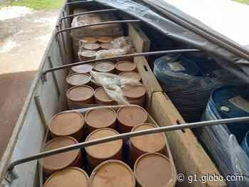 Carreta com produtos químicos e substâncias tóxicas é apreendida em Jaru, RO - G1