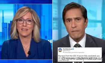 CNN host Alisyn Camerota tears up over CDC mask rules