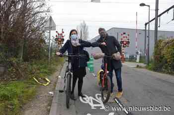Nestor Martinstraat wordt eenrichtingsstraat - Het Nieuwsblad