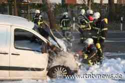 Glinde: Feuerwehr löscht Fahrzeugbrand - RTN - News und Bilder aus dem Norden
