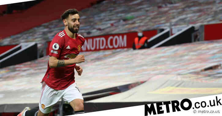 Bruno Fernandes breaks Frank Lampard record with goal against Liverpool