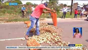 Productores de cebolla cierran nuevamente Natá - TVN Panamá