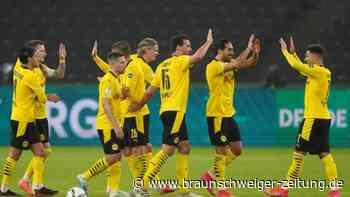 DFB-Pokalfinale: BVB feiert Pokalsieg - Sancho und Haaland zu gut für Leipzig