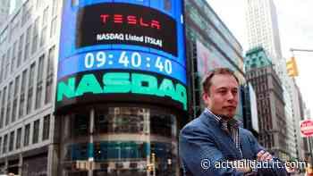 Elon Musk deja de ser la persona más rica del planeta tras perder 13.500 millones de dólares en un día, según Forbes - RT en Español