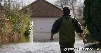 Britain hit by flood warnings sparking fears it could rain every day until June