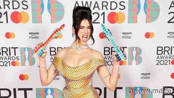 Zwei Brit Awards für Dua Lipa – Taylor Swift erhält Ehrenpreis vor 4000 Zuschauern - RND
