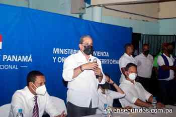 Ministro Paredes plantea alternativas para familias de edificio Capira - En Segundos
