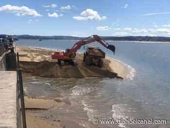 El puerto de Santander ayuda a la regeneración de la playa de La Magdalena - El Canal Marítimo y Logístico