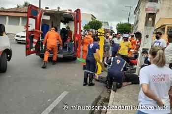 Santana do Ipanema: Motociclistas ficam feridos após se envolverem em acidente - Cada Minuto