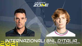 2021 Italian Open Round of 16 – Roberto Bautista Agut vs Andrey Rublev Preview & Prediction - The Stats Zone